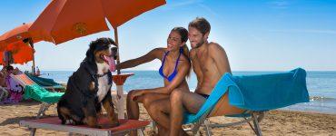spiaggia per cani a Bibione