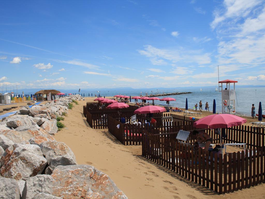 la spiaggia di duke a lignano