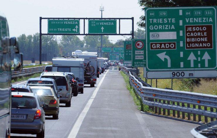 Casello autostradale per Bibione, Alvisopoli