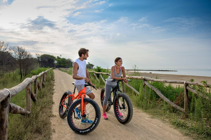bicycle trip in Bibione