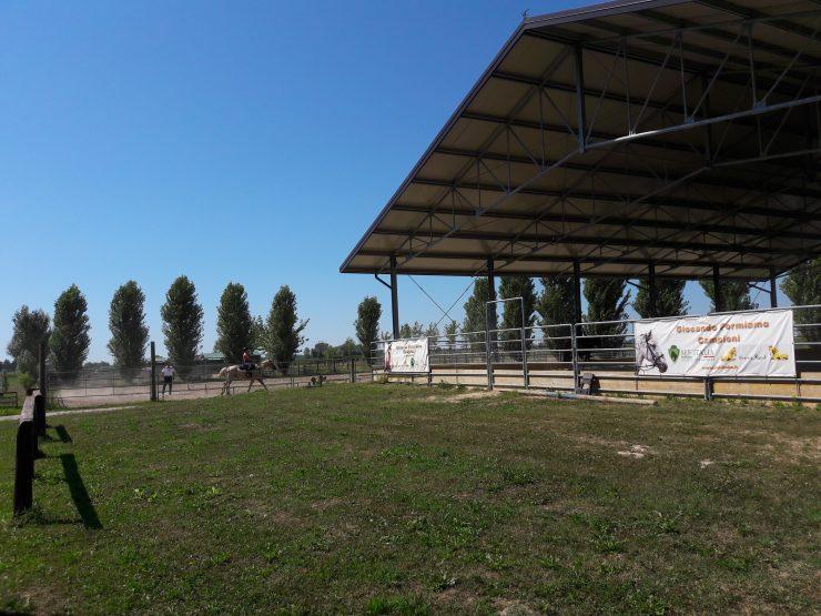 maneggio vicino a Bibione e Lignano