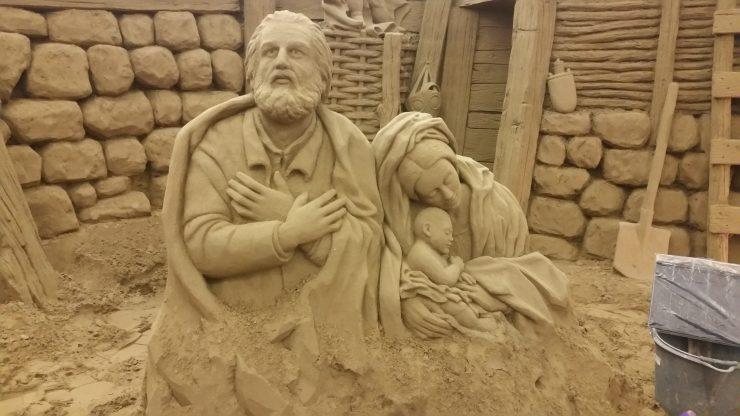 Presepe di sabbia Lignano Sabbiadoro
