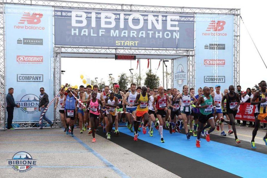 eventi di primavera a bibione: bibione half marathon