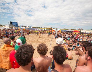 eventi di primavera a bibione: beach volley marathon