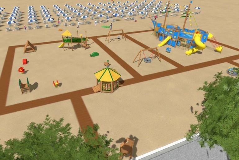 Giochi Inclusivi Spiaggia Lignano
