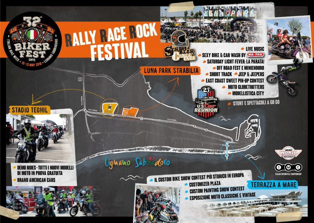 eventi di primavera a lignano - biker fest