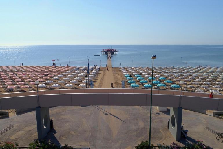La spiaggia di Lignano Pineta
