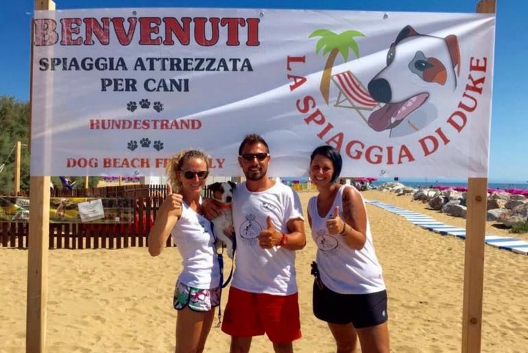 Spiaggia Cani Lignano Riviera