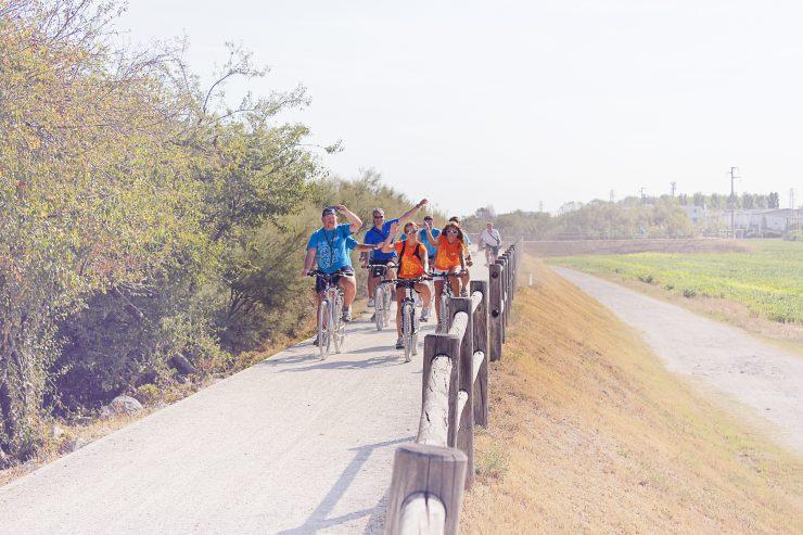 In bicicletta a Lignano
