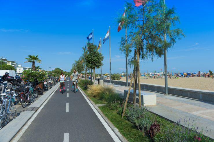 In bicicletta a Bibione