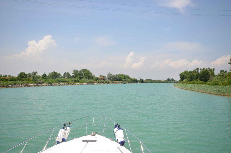 Gita in barca sul fiume Tagliamento