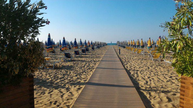 Il mare di settembre a Bibione