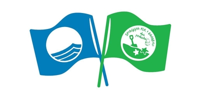 Bandiera blu verde