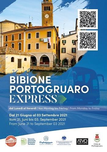 Bibione Portogruaro Express