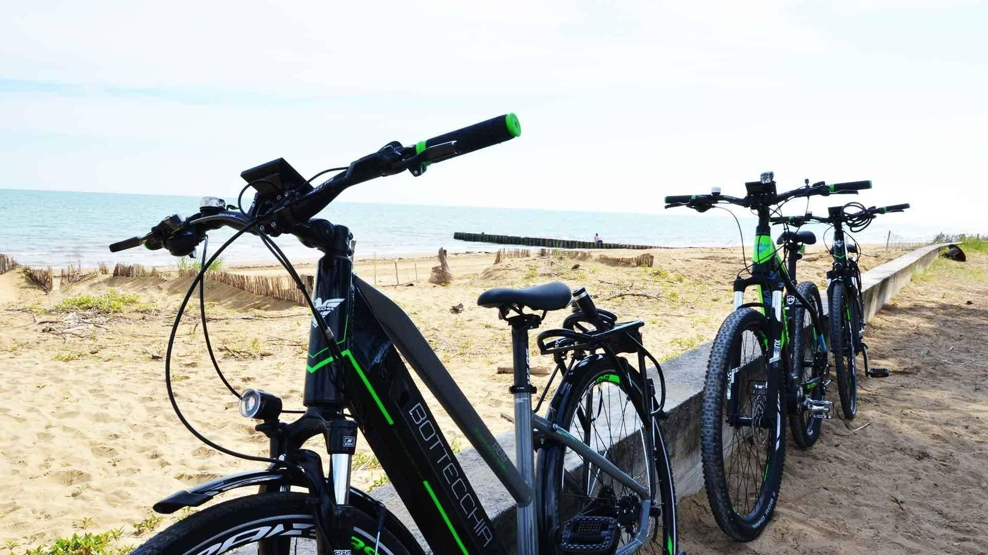 Biciclette elettriche Europa Tourist Group Bibione