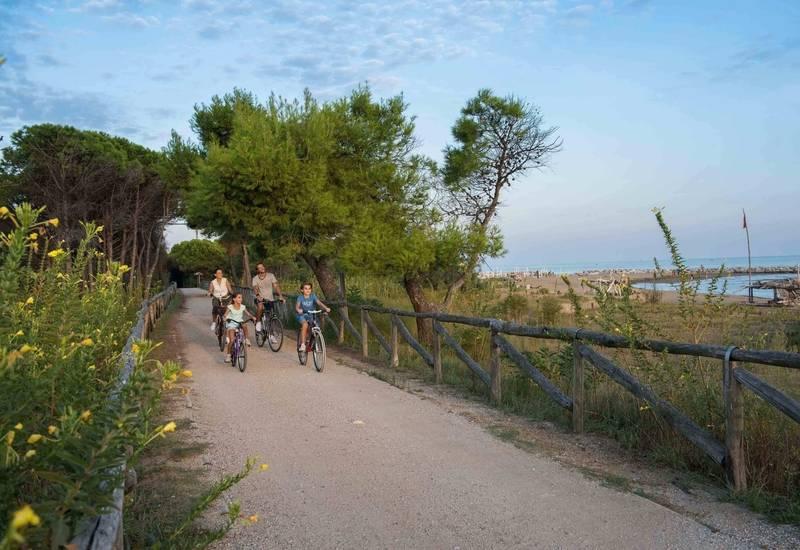 Bibione in bicicletta