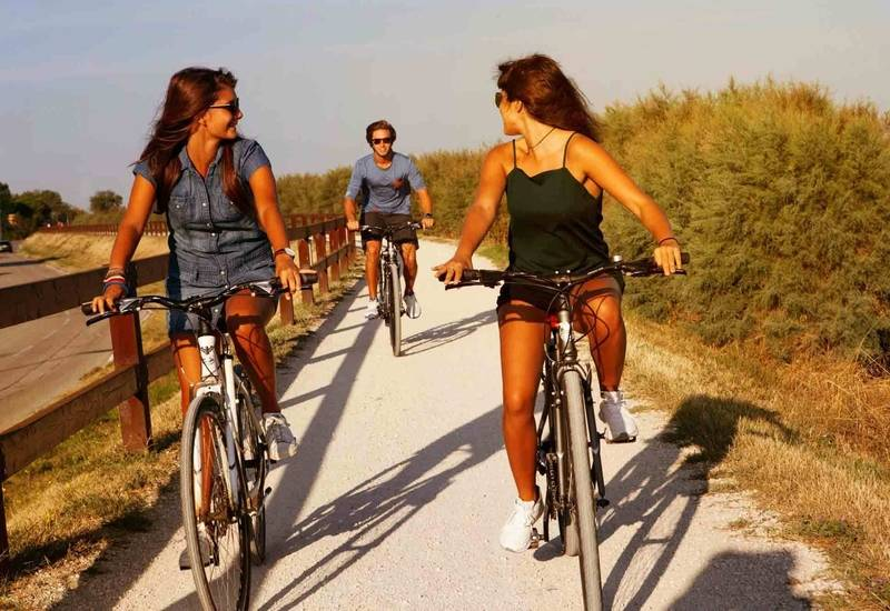 Lignano in bicicletta
